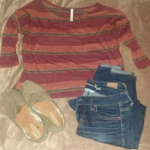 Tops - Striped T-Shirt